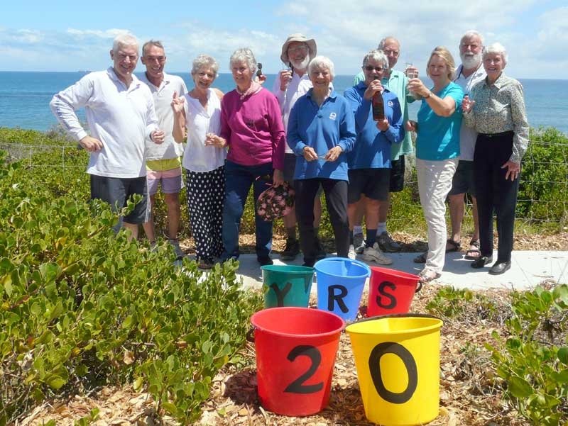The Cottesloe Coastcare Team