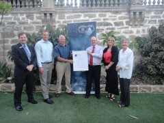 D12 3494  Photo - Waterwise Certificate Presentation - 27 February 2012