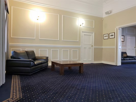 War Memorial Hall - Lounge