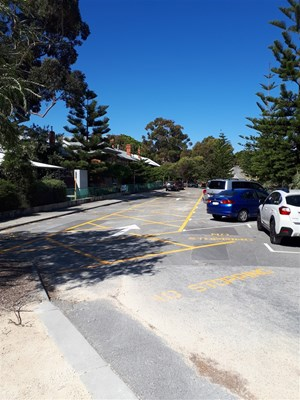View North Cottesloe Primary School Kiss and Drop Project - Consultation October 2019