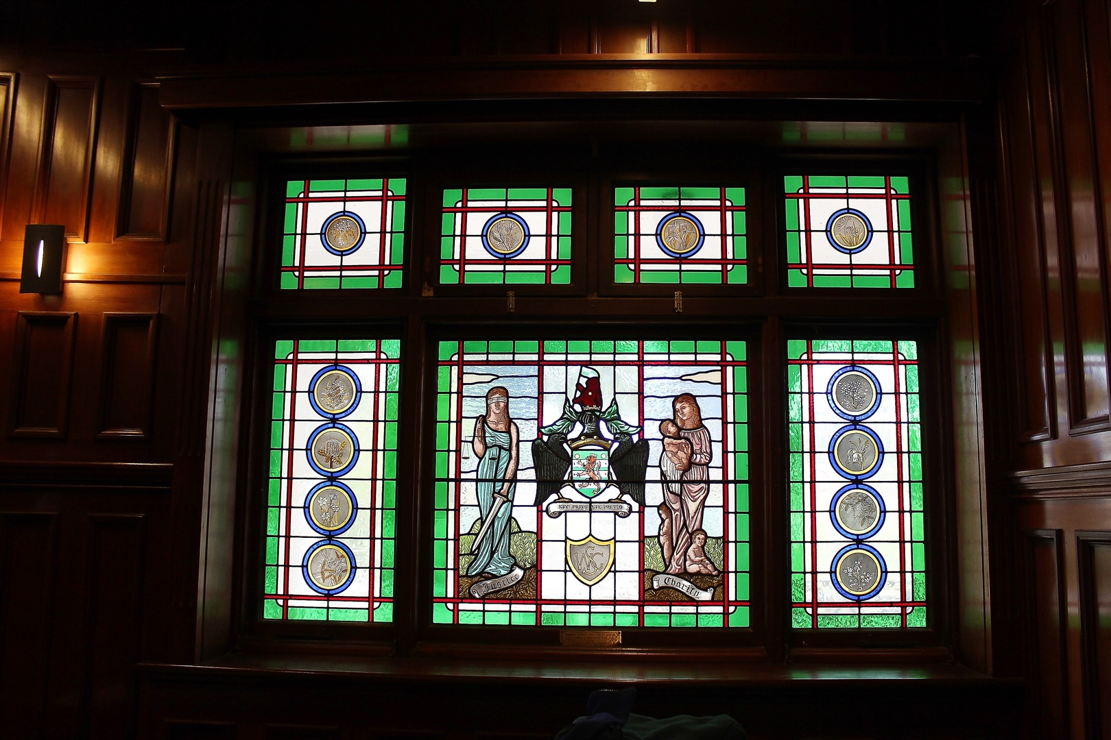 War Memorial Hall - Stain Glass Window